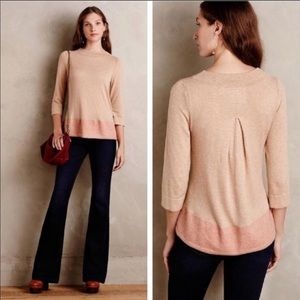 Anthropologie Angel of the North Evi Pullover SM
